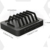 50W 6-Port USB Desktop cell phone holder multiple mobile phone holder
