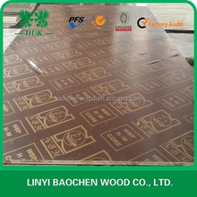 Hot Sale Durable and Waterprood Poplar Core pine film faced Plywood 18mm Marine Plywood for Oman