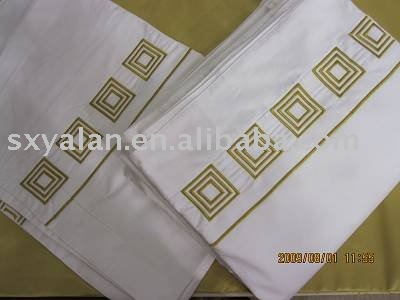 hotel Eyptian combed cotton white embroidery pillow case/pillow shame/pillow cover