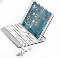 Aluminium wireless keyboard Bluetooth Keyboard for iPad air / ipad air 2