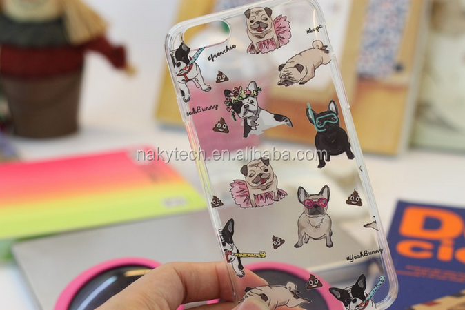 Mobile Phone Accessories Cover Cell Phone Case Custom Design 3D Sublimation IMD Printing Soft TPU Case for iPhone 7 7plus