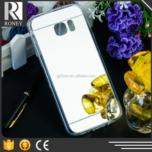 Alibaba express TPU cellphone case back custom design clear mirror phone case for samsung galaxy s5