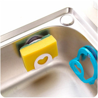 J427 With suction cup Kitchen washing sponge holder