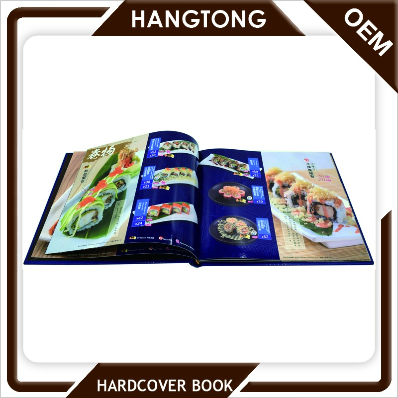 China wholesale cheap hardcover china cookbook printing with high quality