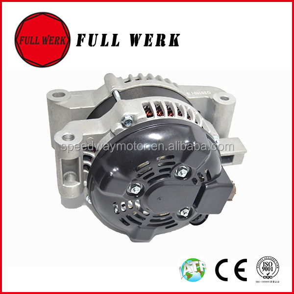 HIGH POWER nylon pulley 12V 130A ALTERNATOR 2706026030 1042104771 WITH CLUTH PULLEY FOR TOYOTA RAV4