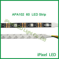 5050rgb smd 5v 60pcs/m apa102 led strip lighting