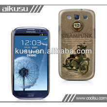 2013 custom abrazine cover for samsung galaxy s3 i9300 case with water transfer process