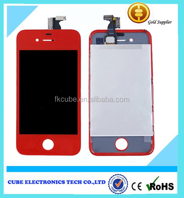 For iPhone 4S colorful Conversion Touch Screen Digitizer LCD & Back Cover