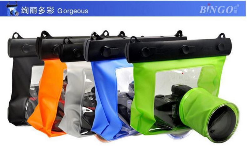 High quality PVC underwater waterproof dslr camera bag