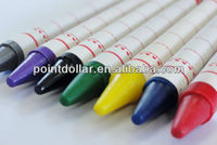 Non-Toxic & Safety Multi Color Crayons Promotional Wax Crayon Set/ With EN71-3,9; ASTM-D4236 CE test