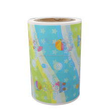 Wholesale Price Light PE Backsheet Roll raw materials for Baby Diaper