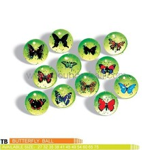 butterfly bouncing ball,3d butterfly ball