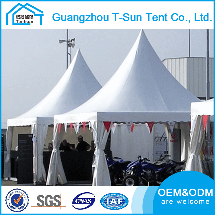 Guangzhou 4x4 5x5 6x6 Outdoor Exhibition Pagoda Tent For Sale