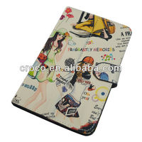 Sunshine Girl PU cover for tabet pc/ for iPad Mini