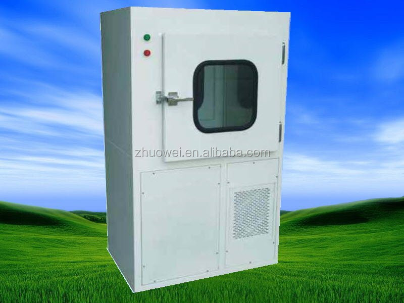 Jowell & Industry double leaf automatic sliding door air shower