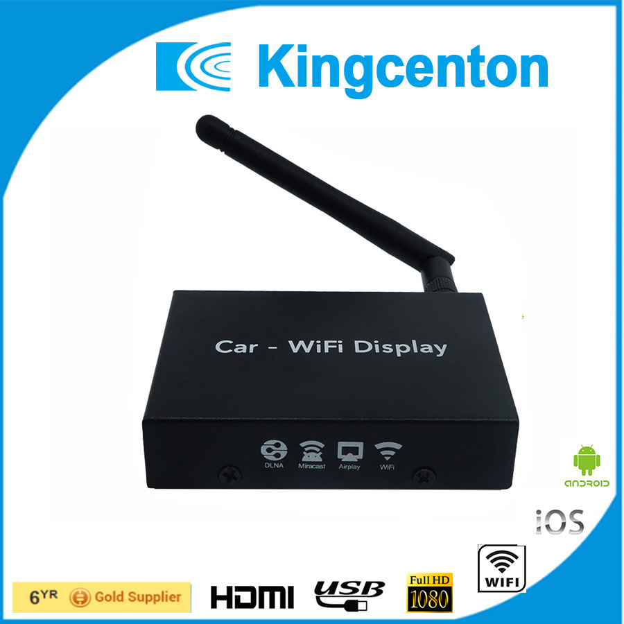 Car wifi mirrorring link box car display for navigation and entertainment system