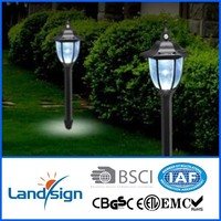 cixi landsign with CE,ROHS certificated XLTD-249D solar garden lamp series outdoor led solar lamp for garden