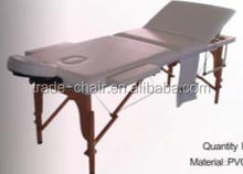 2014 New Fashion Best Selling Luxury 3 Section Wooden portable massage table