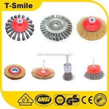 high quality professional cleaning tools drill wire brushes