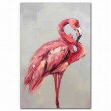 decorative 3d effect greater flamingo pictures oil painting by numbers
