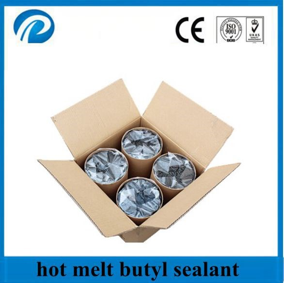 cheapest insulating glass making Hot melt butyl rubber sealant