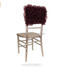 Elegant Wholesale Wedding Half Back Chair Head Covers