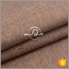 JJ-183 High quality 100% polyester linen upholstery fabric sofa fabric