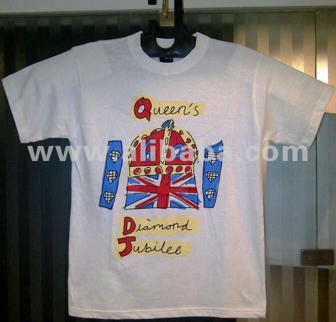 Queen's Diamond Jubilee T-shirts