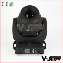 High power 120w spot moving head light 3-facet spot moving head lumin 120w spot for Christmas happy new year