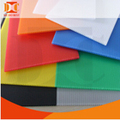 Customized color lightweight plastic corrugated board