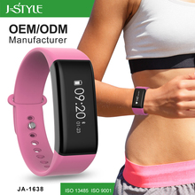 J-style Heart Rate Monitor Wrist Pedometer Watch Bluetooth Heart Rate Monitor