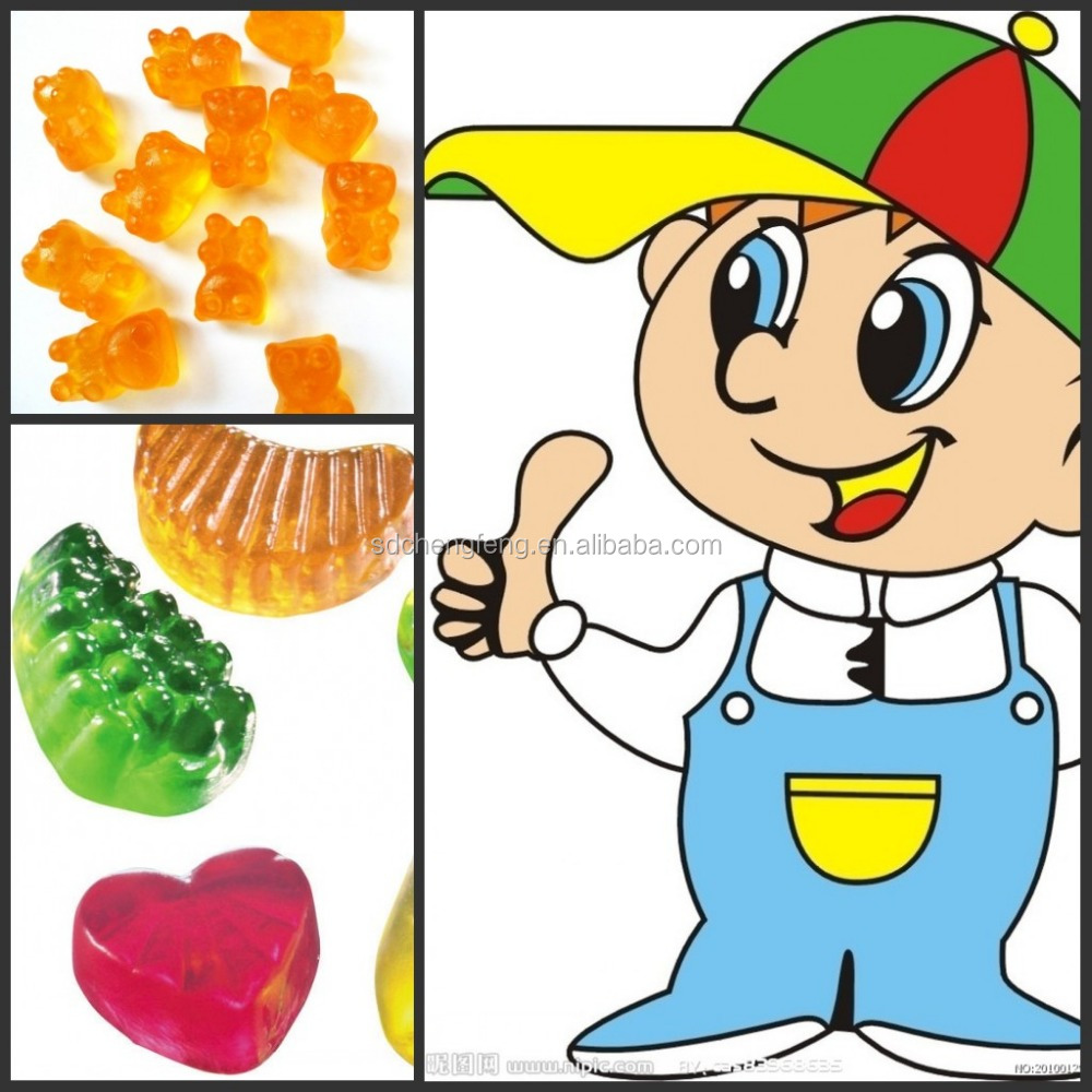 Bear Shape Jelly Soft Gummy Candy