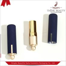 Competitive price matte dark blue slim lipstick 20mm H73mm tube packaging/ lipstick shell/lipstick tube bulk