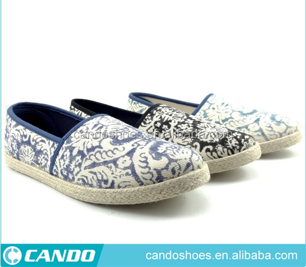Stylish Product Good Quality Exotic Style Shoes For Lady Slip On Canvas Shoes