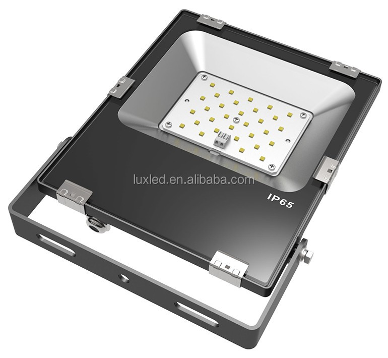 high cri super bright led smd 30w floodlight with meanwell driver