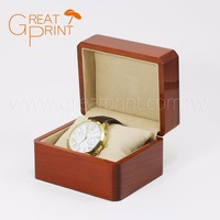 Popular Taiwan Custom Gift Wrist Wooden Watch Box