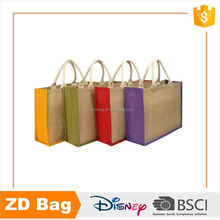 Advertising promotion wholesale cheap price jute tote bags