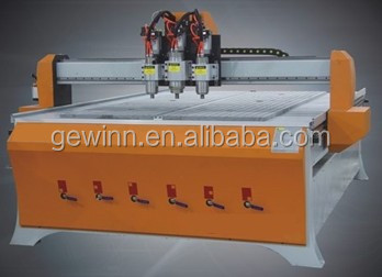 Cabinet board easy cutting and boring CNC router/CNC center