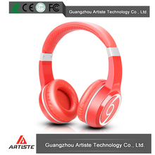 China electronics high fashion bluetooth wireless headset stereo headphone