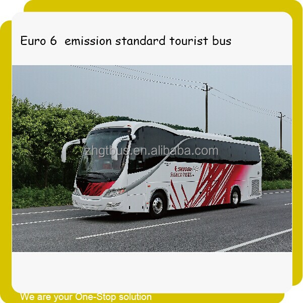 12m new bus style china bus exported