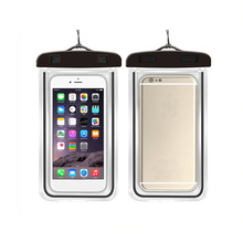 High quality pvc waterproof bag phone bag for mobile, waterproof mobile plastic bags for phones