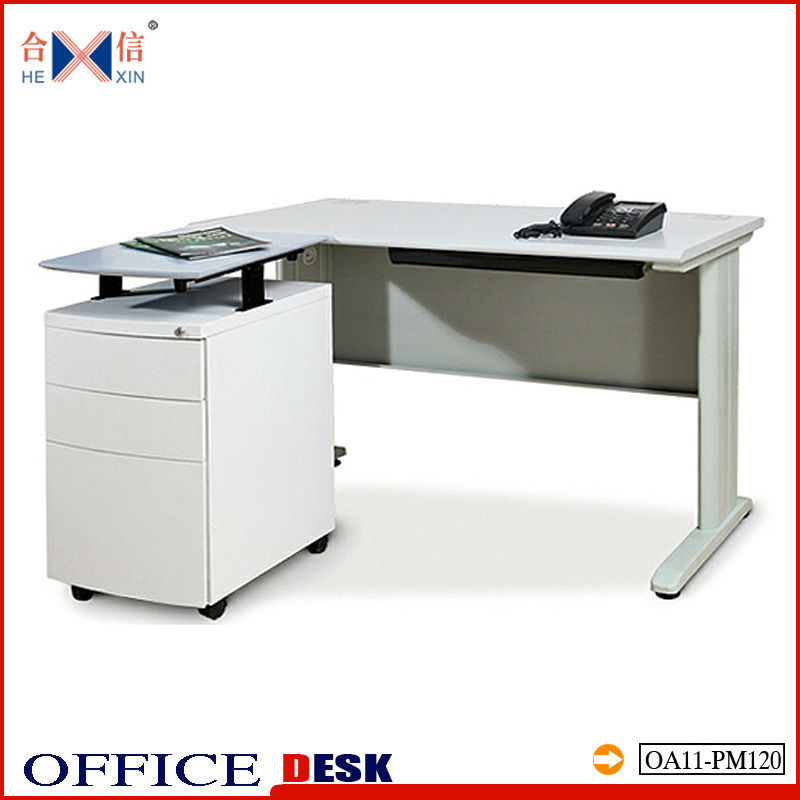 poor office desk office table computer desk laptop table with movable drawers