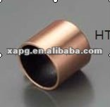 HTB-1B Bronzed-backed oilless bearing sliding bush plastic metal bushing for car auto parts