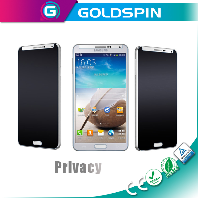 GOLDSPIN high quality 3M privacy screen protector for samsung galaxy core anti spy screen film