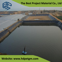 Koi HDPE Geomembrane Sheets for Fish Farm