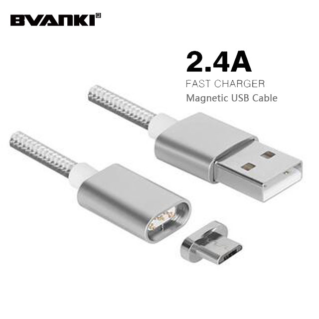 Wholesale Overseas Cell Phones Flexible Double Sided USB Cable For iPhone Magnetic USB Data magnet usb cable