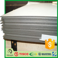 300 series China factory manufacturer mill edge competitive price aisi 304 stainless steel yield strength cold sheet with PVC