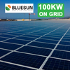 Commercial Use 100KW Solar Power Plant Commercial Solar Energy System