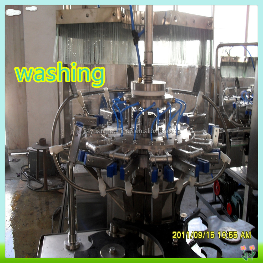 High efficient industrial stainless steel cola can/carbonated beverage filling machine