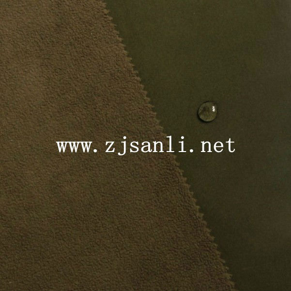 polyester Corrosion resistance Suitable for the production of climbing Spring softshell jacket fabric